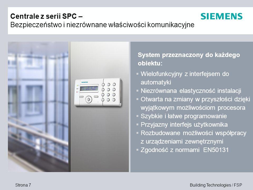 Centrale z serii SPC – Bezpieczeństwo i niezrównane właściwości komunikacyjne