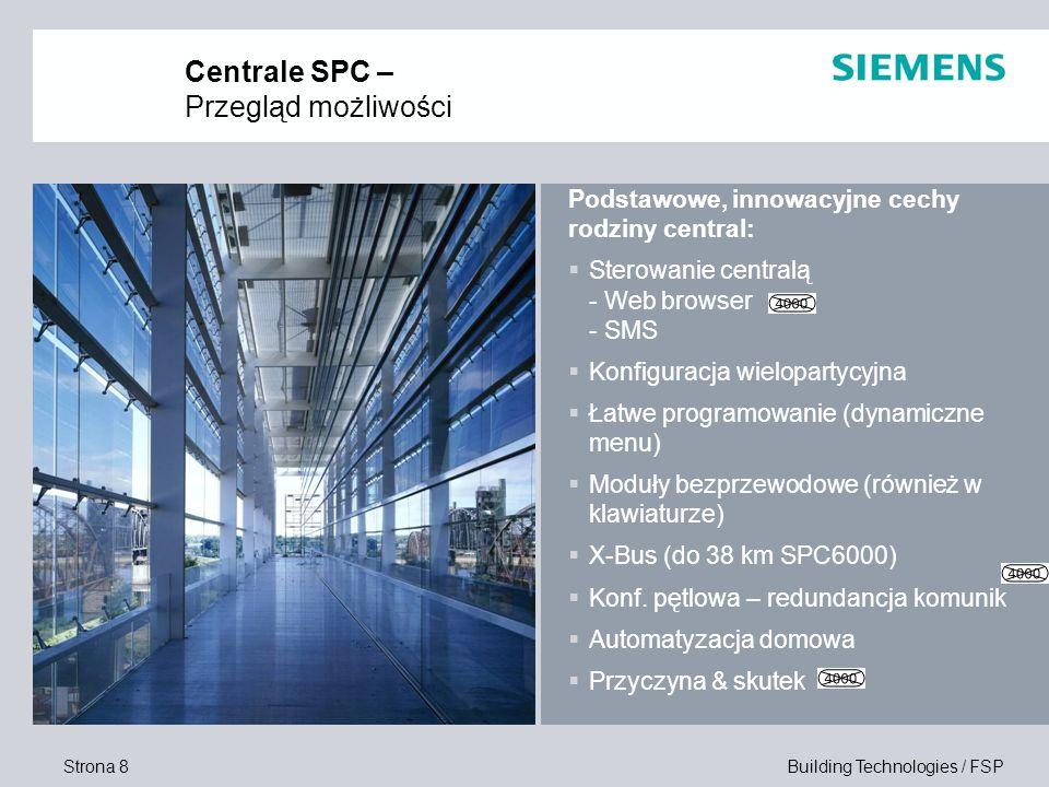 Centrale SPC – Przegląd możliwości