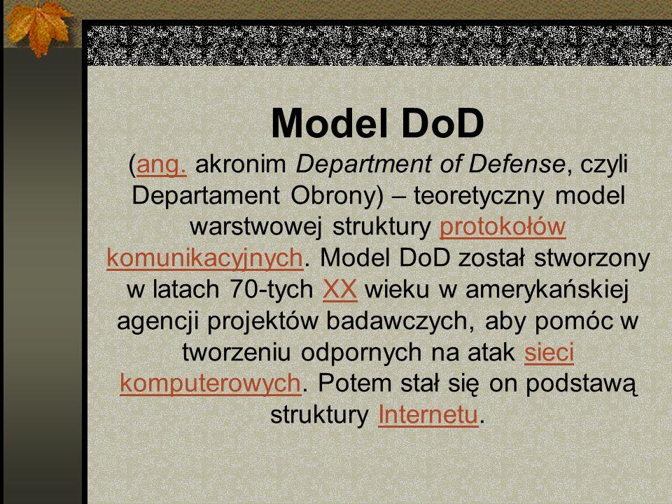 Model DoD (ang.