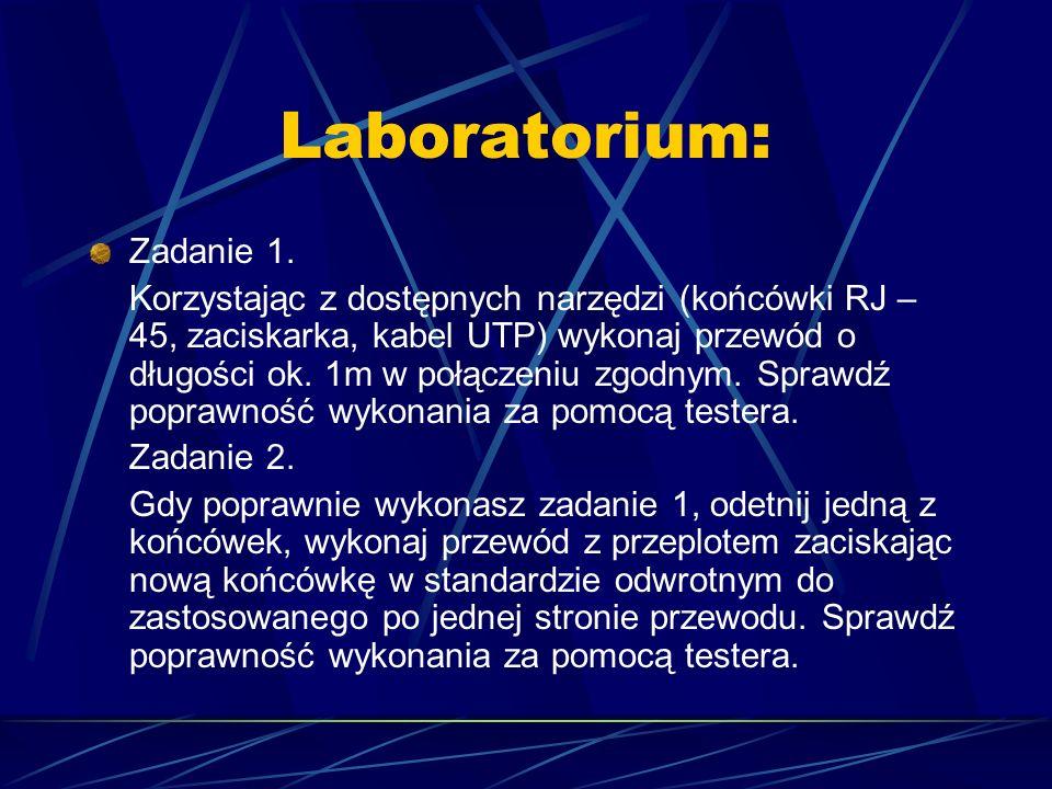 Laboratorium: Zadanie 1.