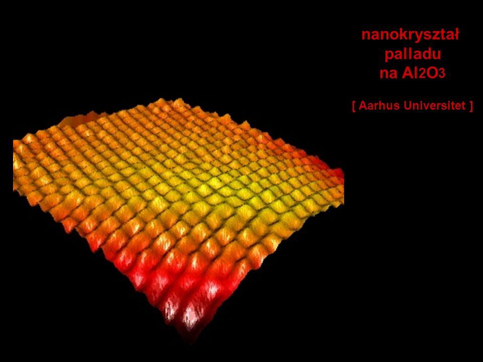 nanokryształ palladu na Al2O3