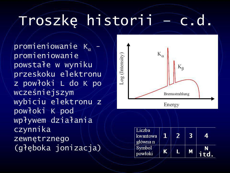Troszkę historii – c.d.