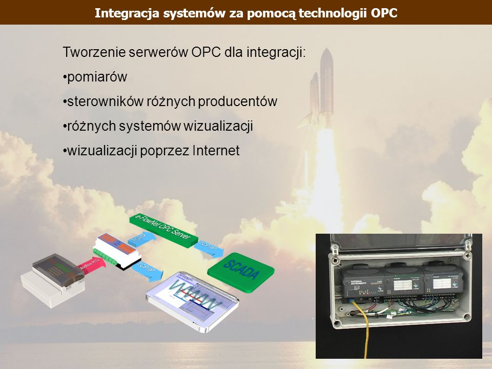 Integracja systemów za pomocą technologii OPC