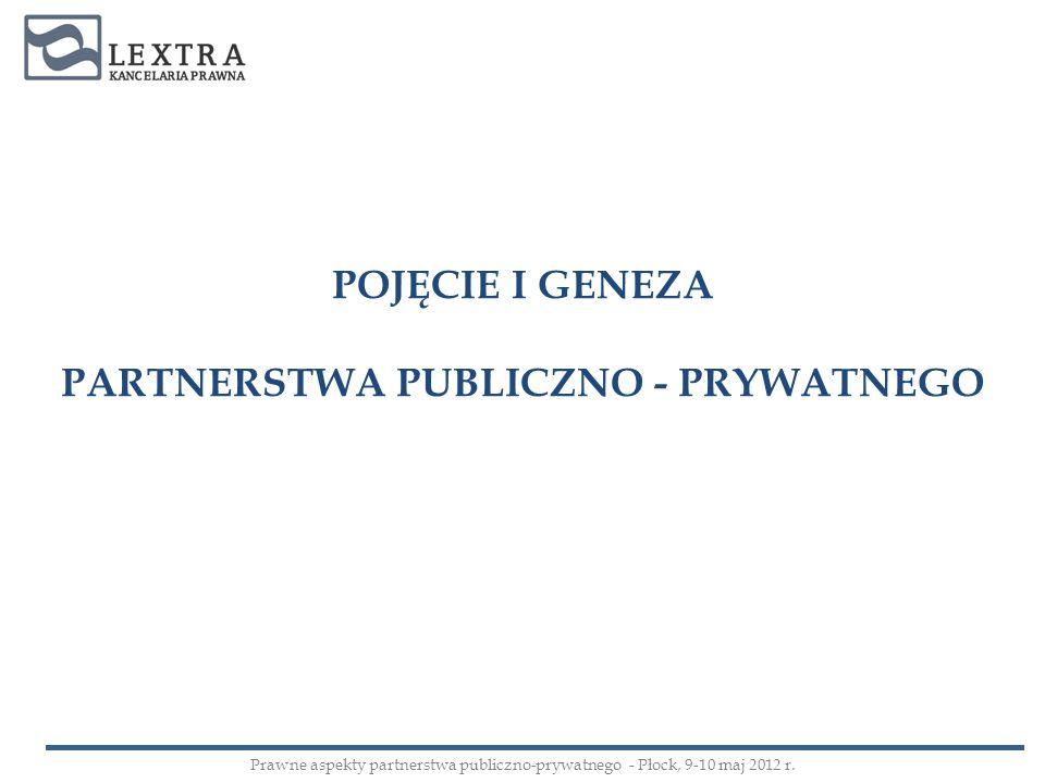 PARTNERSTWA PUBLICZNO - PRYWATNEGO