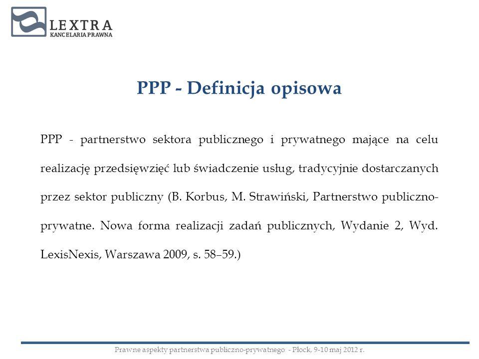 PPP - Definicja opisowa