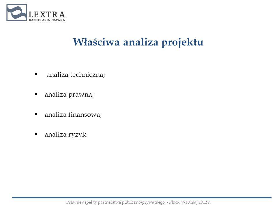 Właściwa analiza projektu