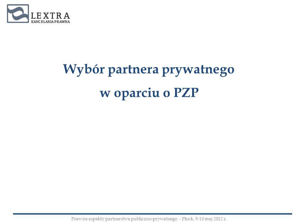 Wybór partnera prywatnego
