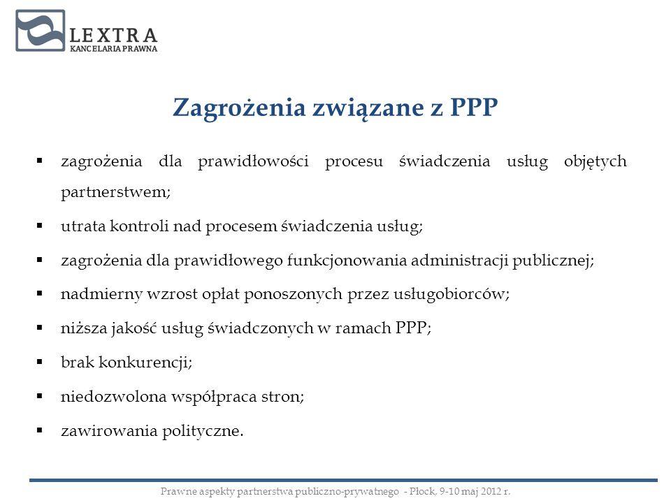 Zagrożenia związane z PPP