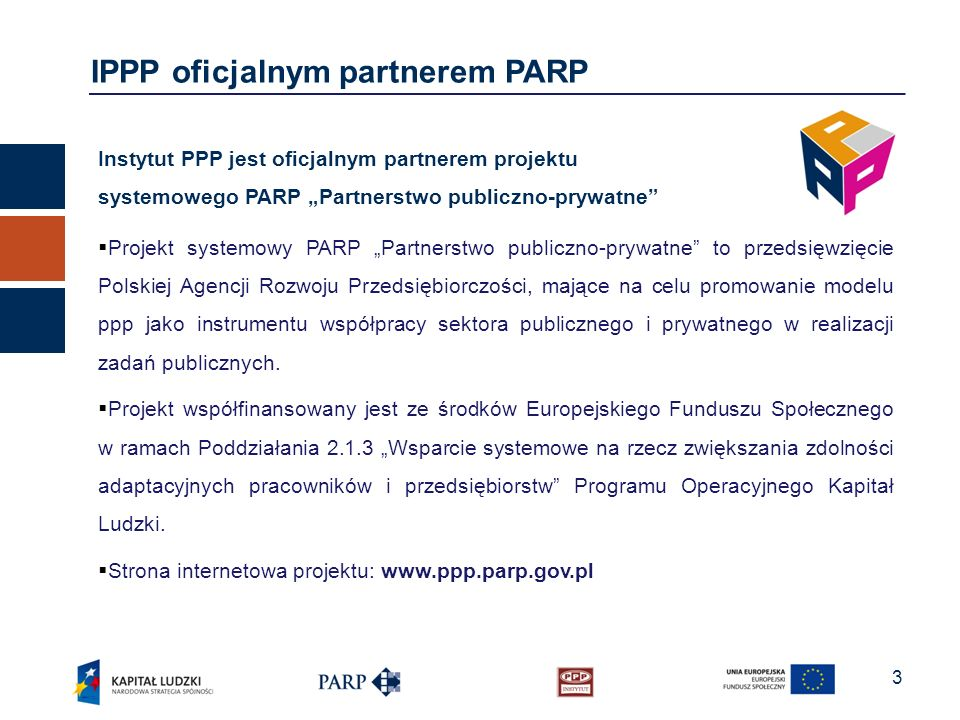 IPPP oficjalnym partnerem PARP