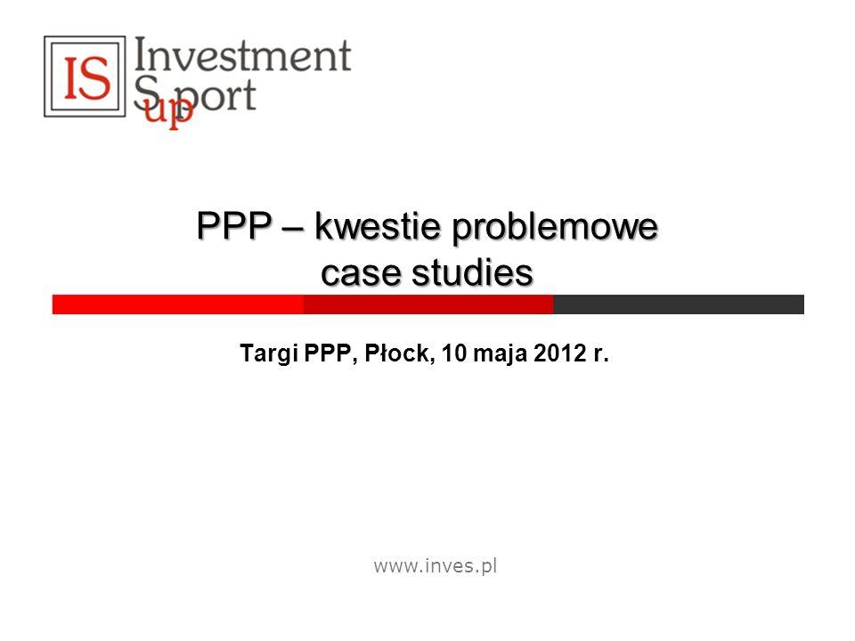 PPP – kwestie problemowe case studies