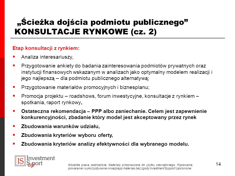 """""""Ścieżka dojścia podmiotu publicznego KONSULTACJE RYNKOWE (cz. 2)"""