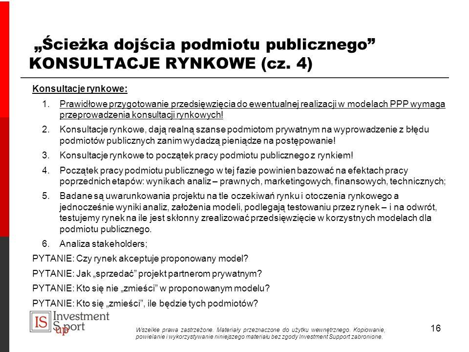 """""""Ścieżka dojścia podmiotu publicznego KONSULTACJE RYNKOWE (cz. 4)"""
