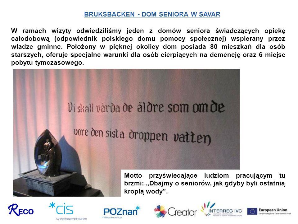 BRUKSBACKEN - DOM SENIORA W SAVAR