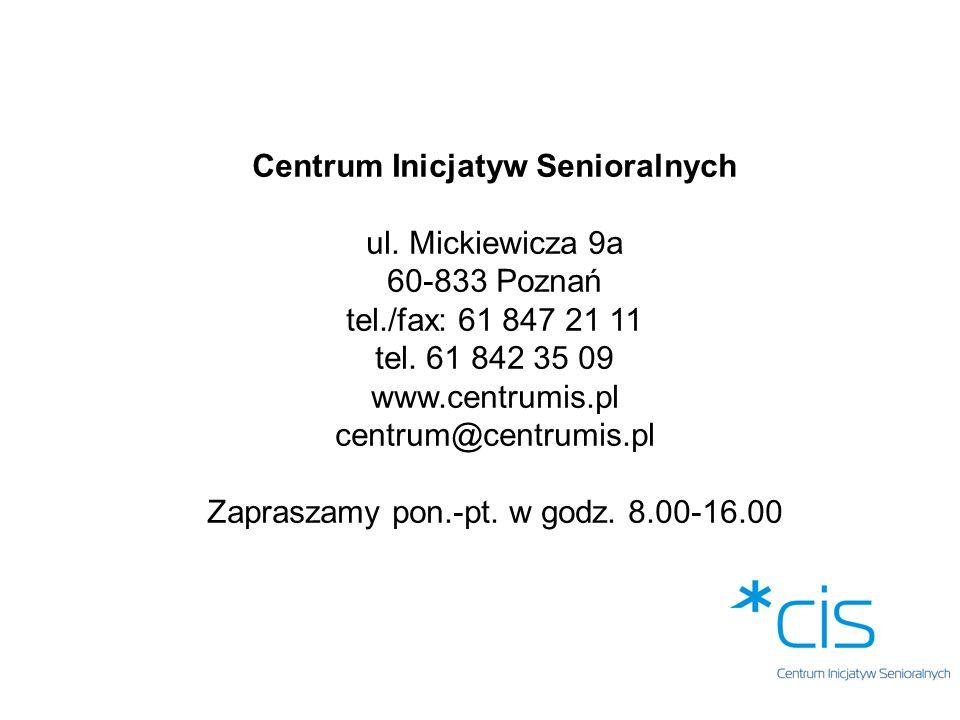Centrum Inicjatyw Senioralnych