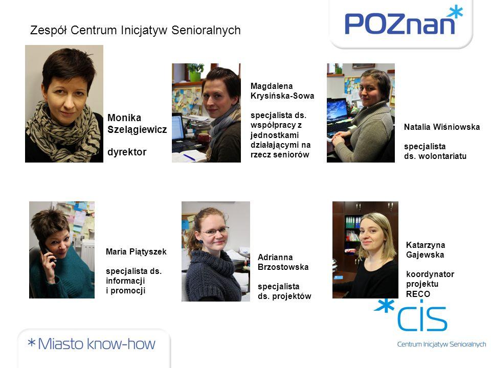 Zespół Centrum Inicjatyw Senioralnych