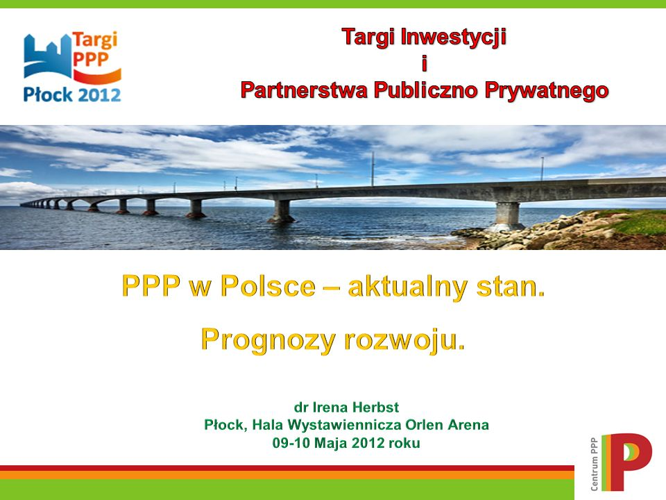 PPP w Polsce – aktualny stan. Prognozy rozwoju.