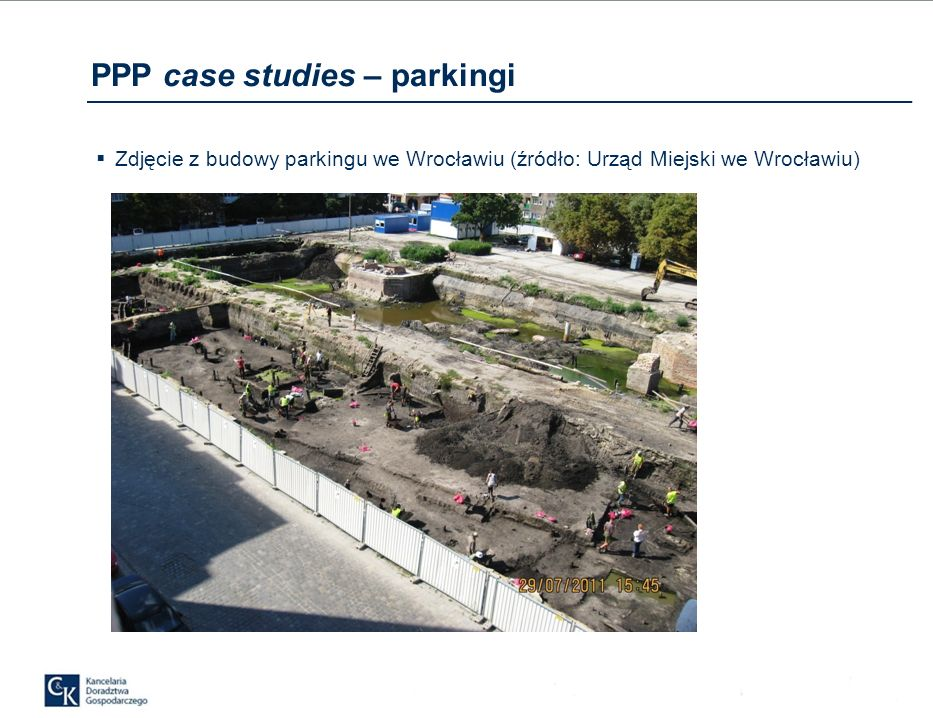 PPP case studies – parkingi
