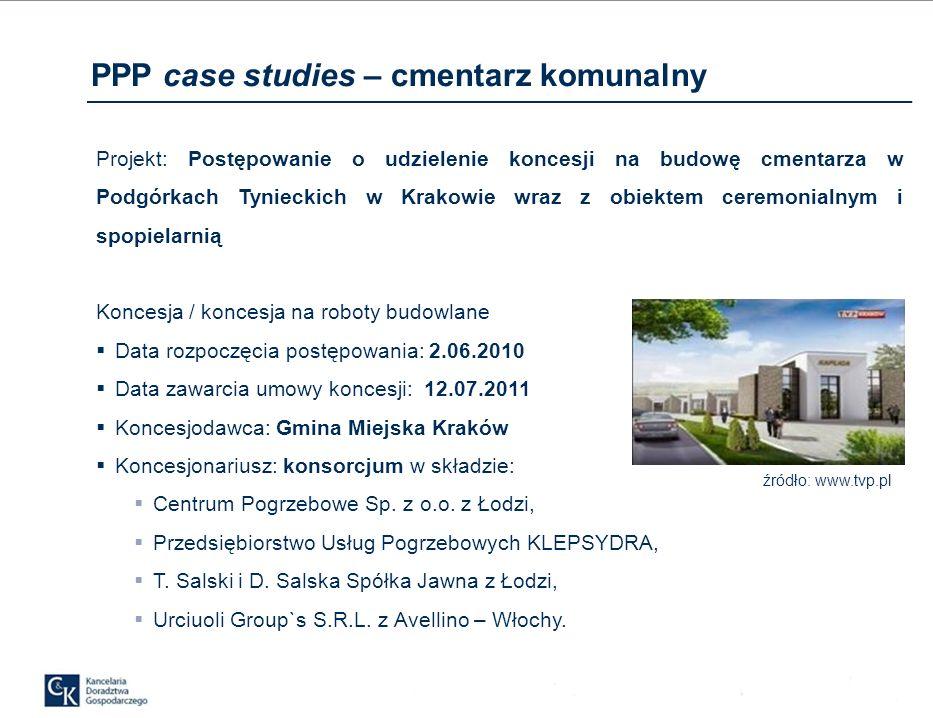 PPP case studies – cmentarz komunalny