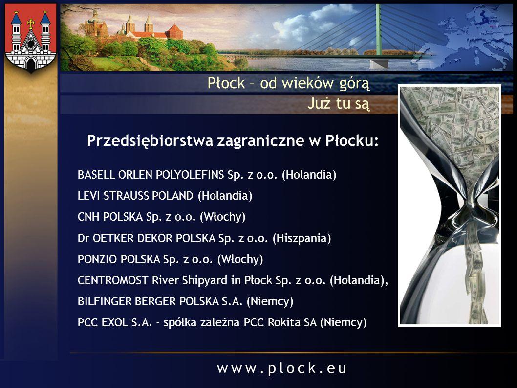 Przedsiębiorstwa zagraniczne w Płocku: