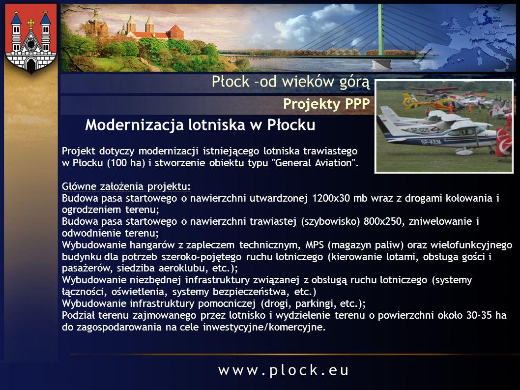 Modernizacja lotniska w Płocku