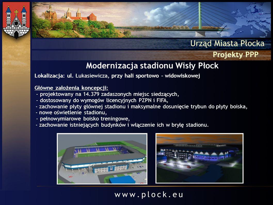 Modernizacja stadionu Wisły Płock