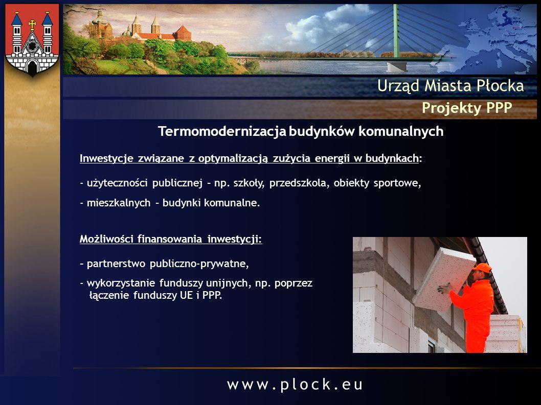 Termomodernizacja budynków komunalnych