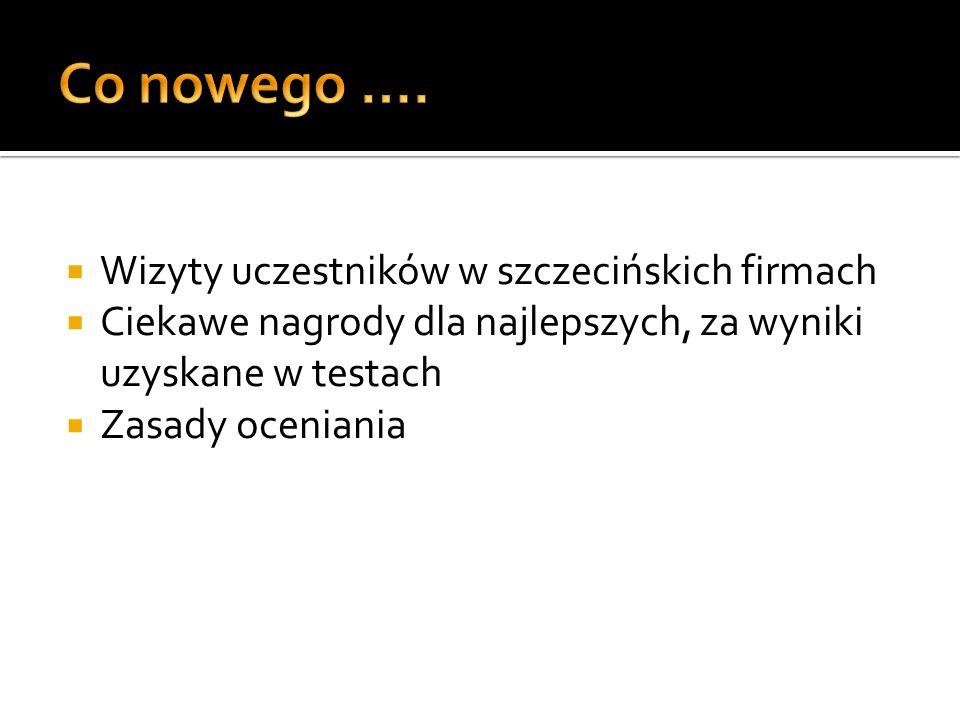 Co nowego …. Wizyty uczestników w szczecińskich firmach