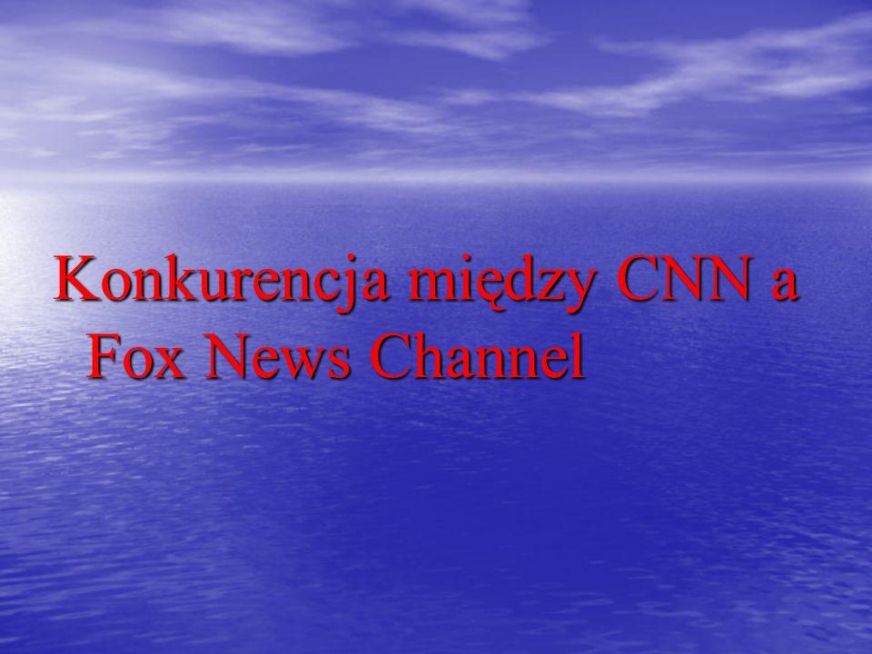 Konkurencja między CNN a Fox News Channel