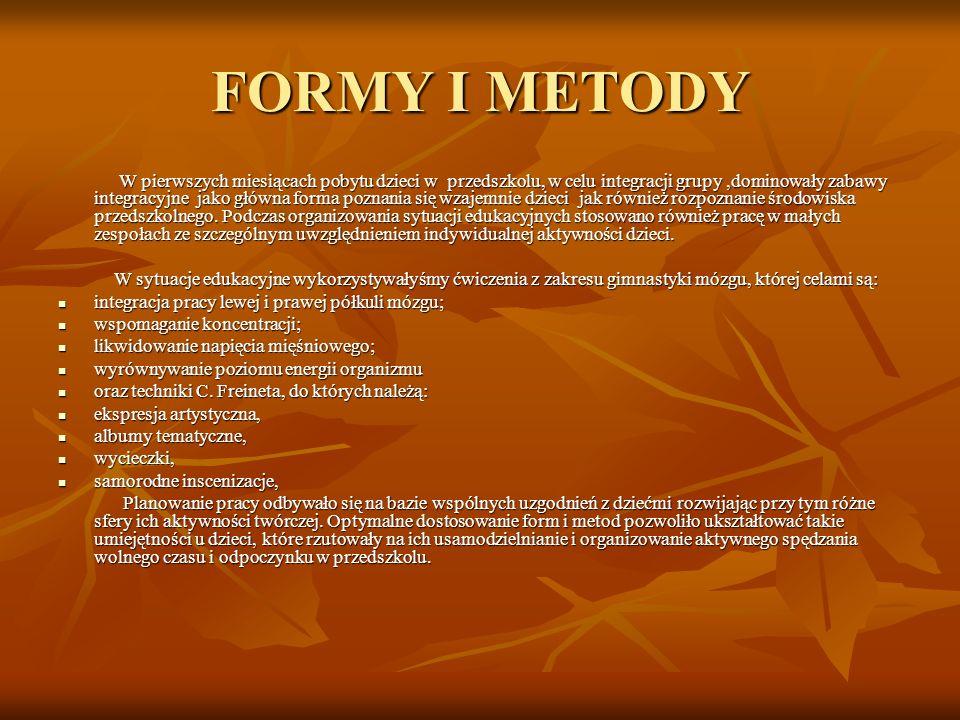 FORMY I METODY