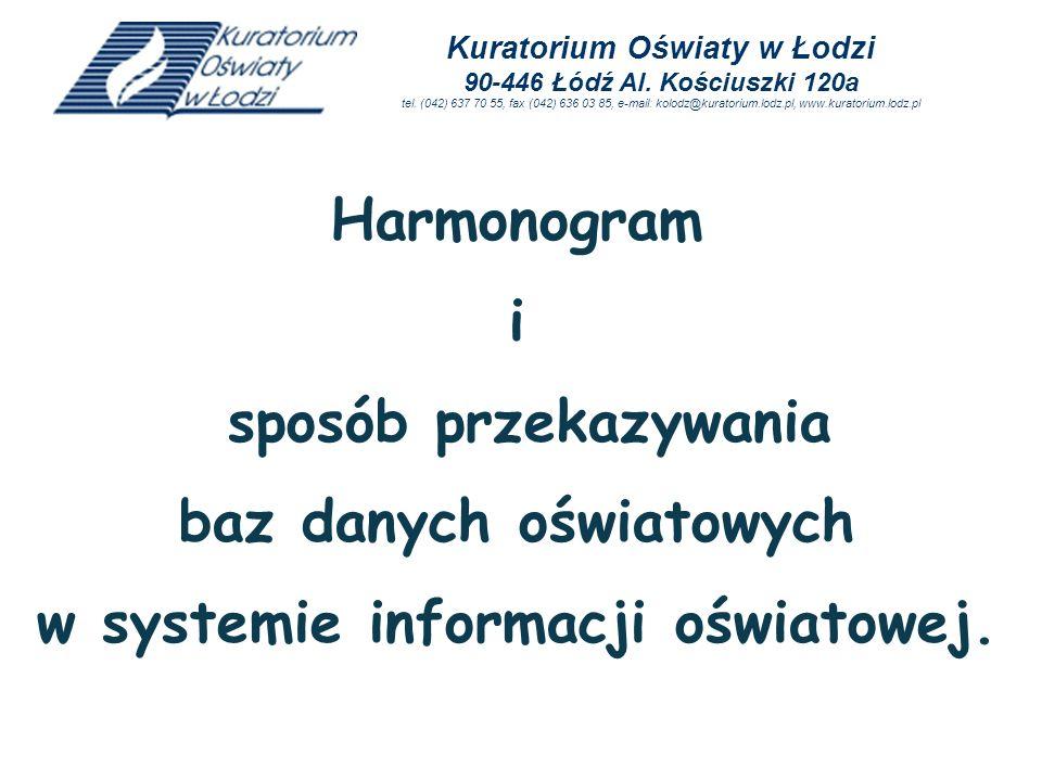 baz danych oświatowych w systemie informacji oświatowej.