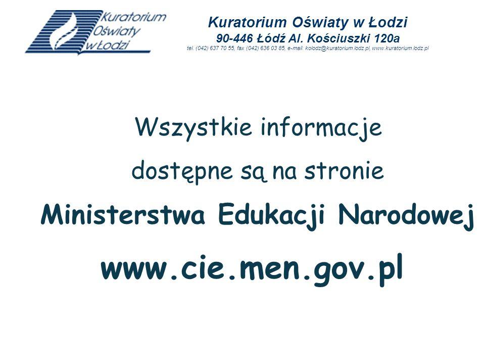 Ministerstwa Edukacji Narodowej