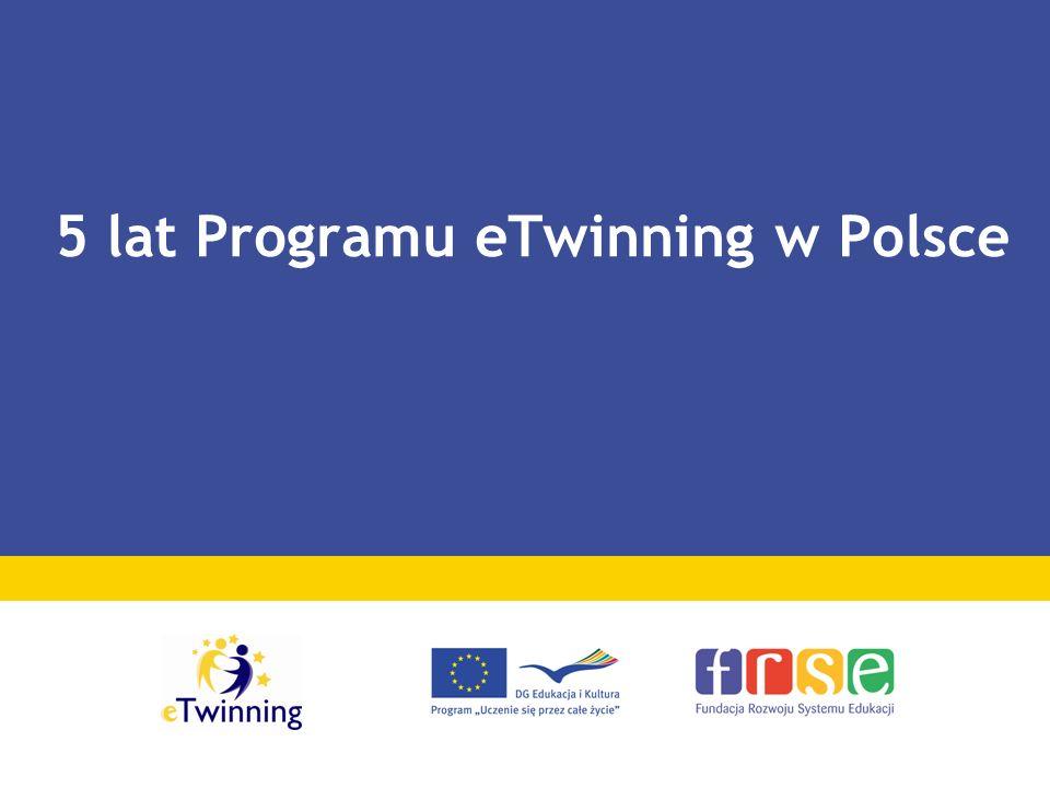 5 lat Programu eTwinning w Polsce
