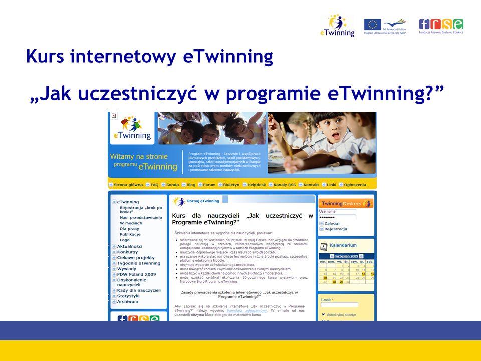 Kurs internetowy eTwinning