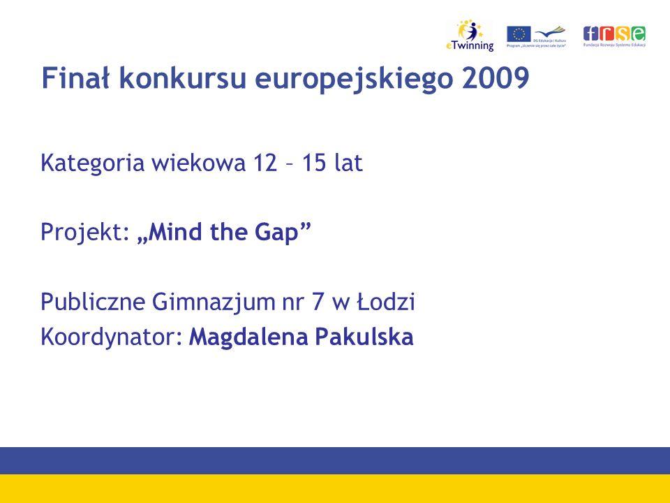 Finał konkursu europejskiego 2009