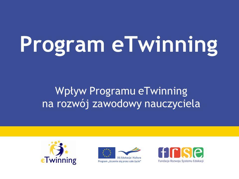 Wpływ Programu eTwinning na rozwój zawodowy nauczyciela