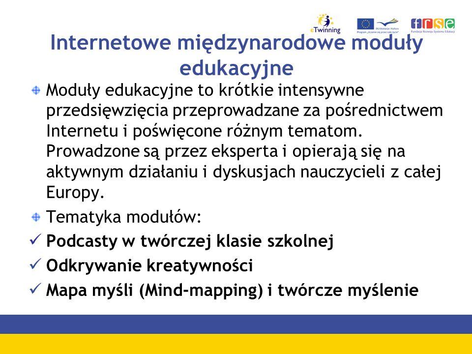 Internetowe międzynarodowe moduły edukacyjne