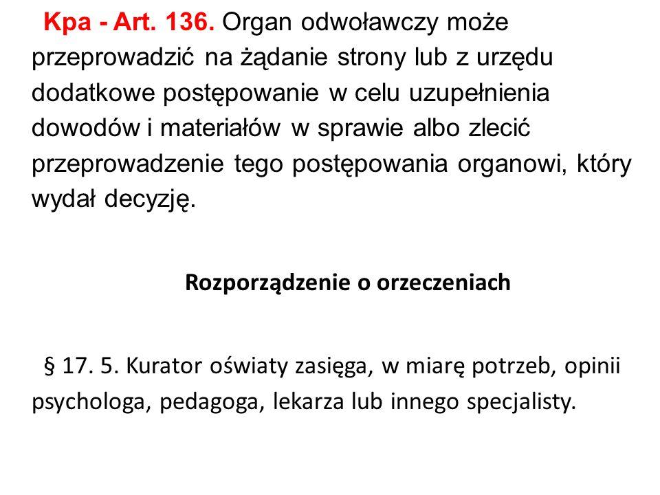 Kpa - Art. 136.