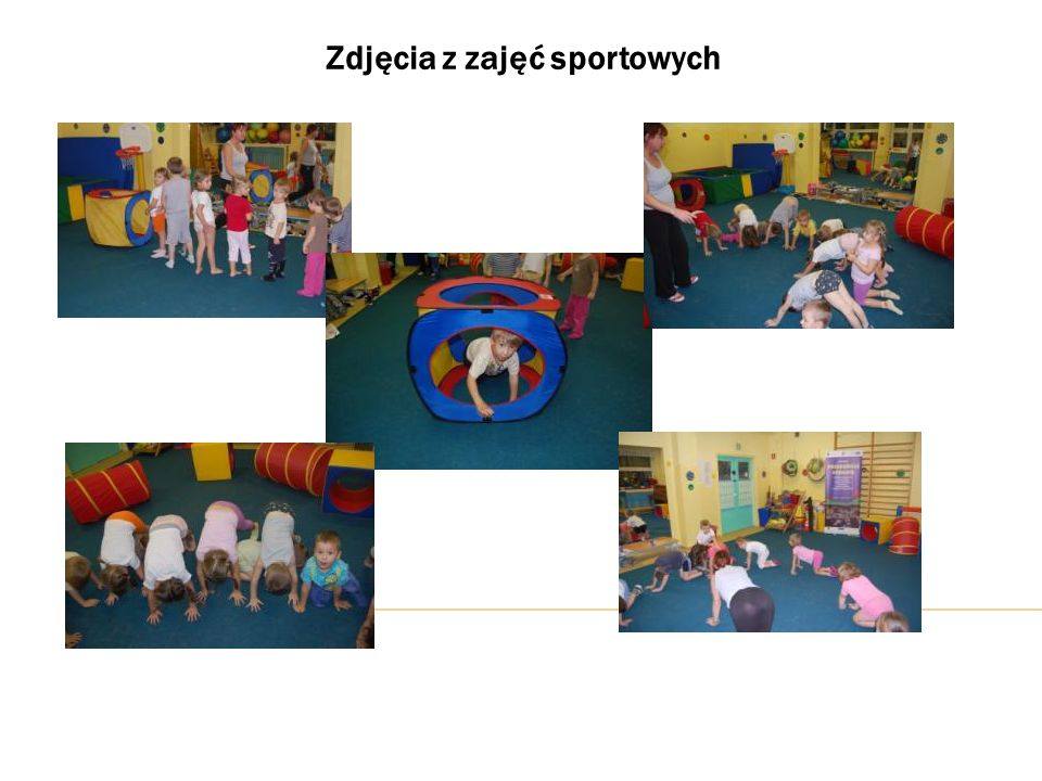 Zdjęcia z zajęć sportowych