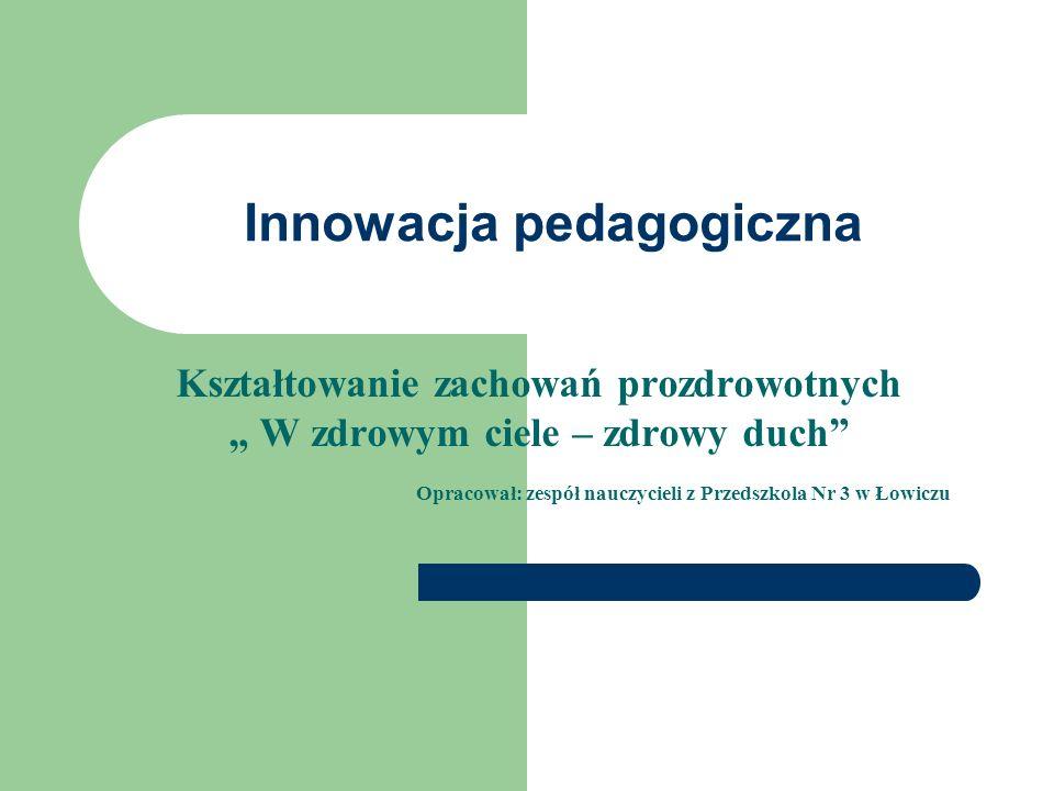 Innowacja pedagogiczna
