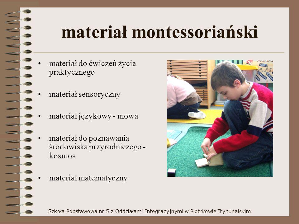 materiał montessoriański