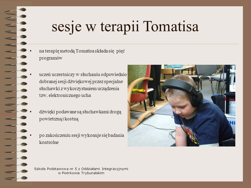 sesje w terapii Tomatisa