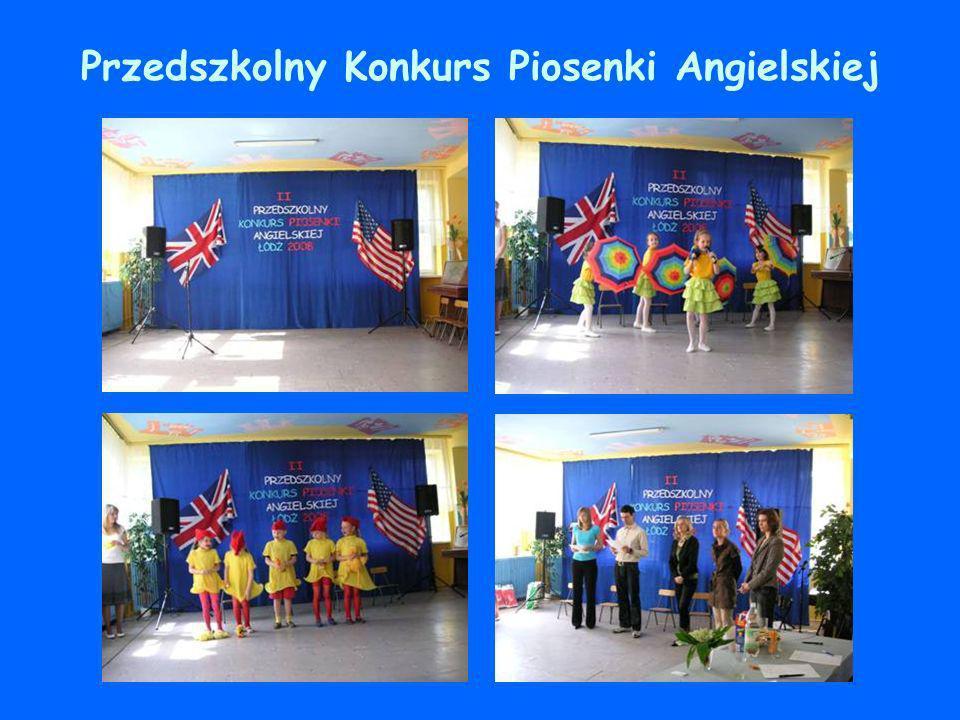 Przedszkolny Konkurs Piosenki Angielskiej