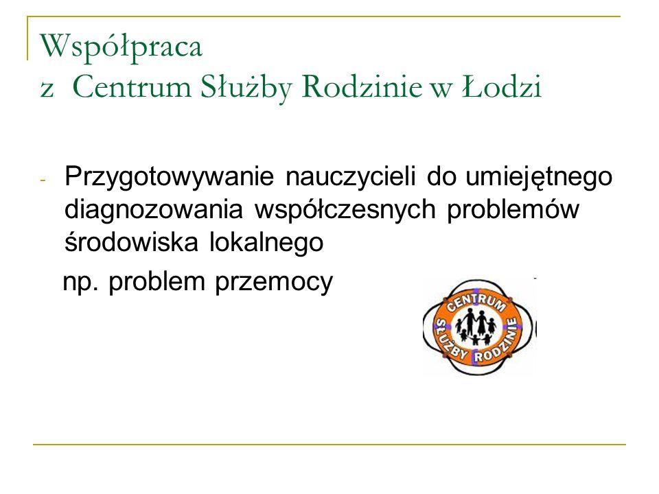 Współpraca z Centrum Służby Rodzinie w Łodzi