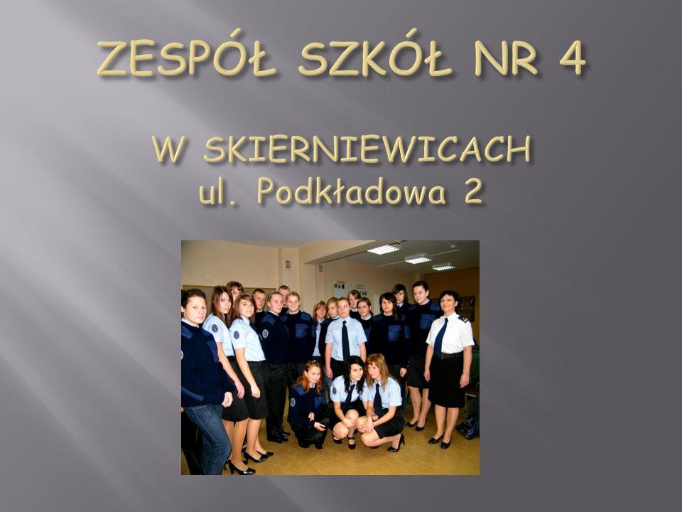 ZESPÓŁ SZKÓŁ NR 4 W SKIERNIEWICACH ul. Podkładowa 2