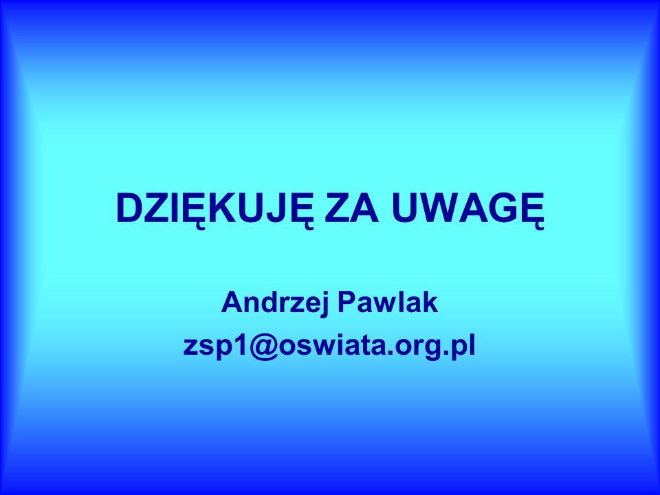 Andrzej Pawlak zsp1@oswiata.org.pl