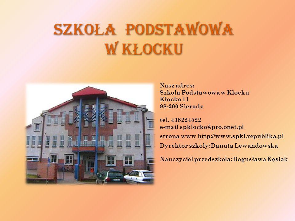SzkoŁa Podstawowa w KŁocku