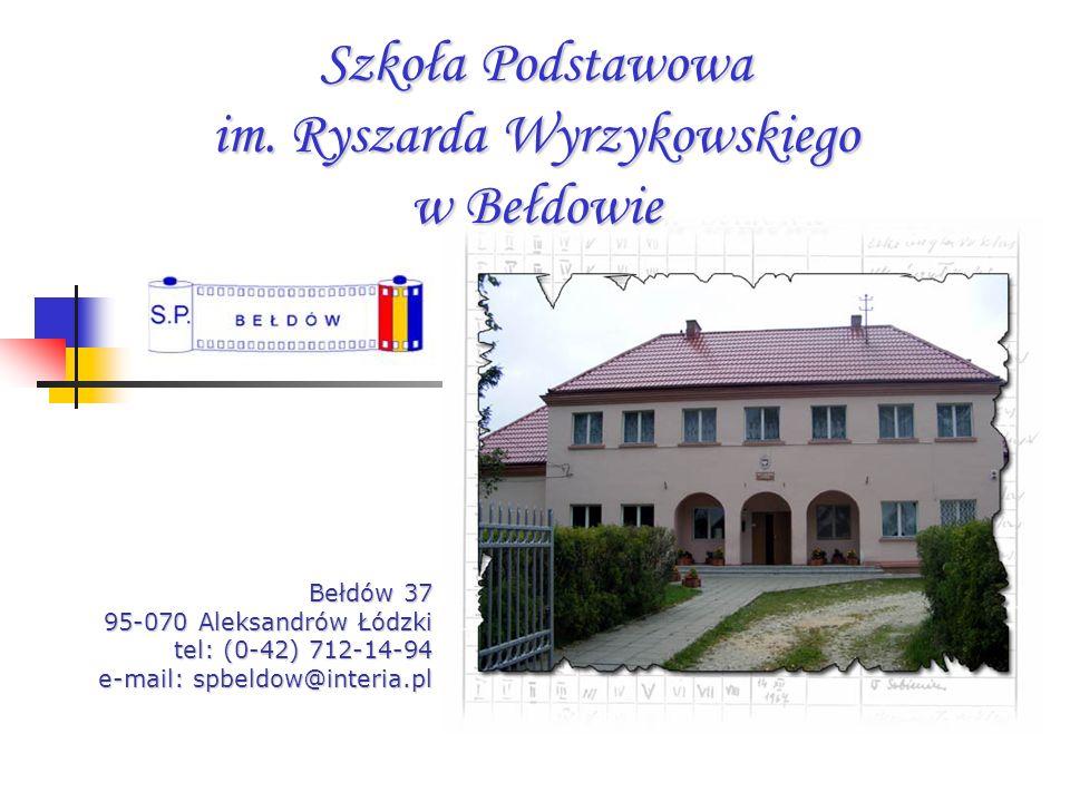 Szkoła Podstawowa im. Ryszarda Wyrzykowskiego w Bełdowie