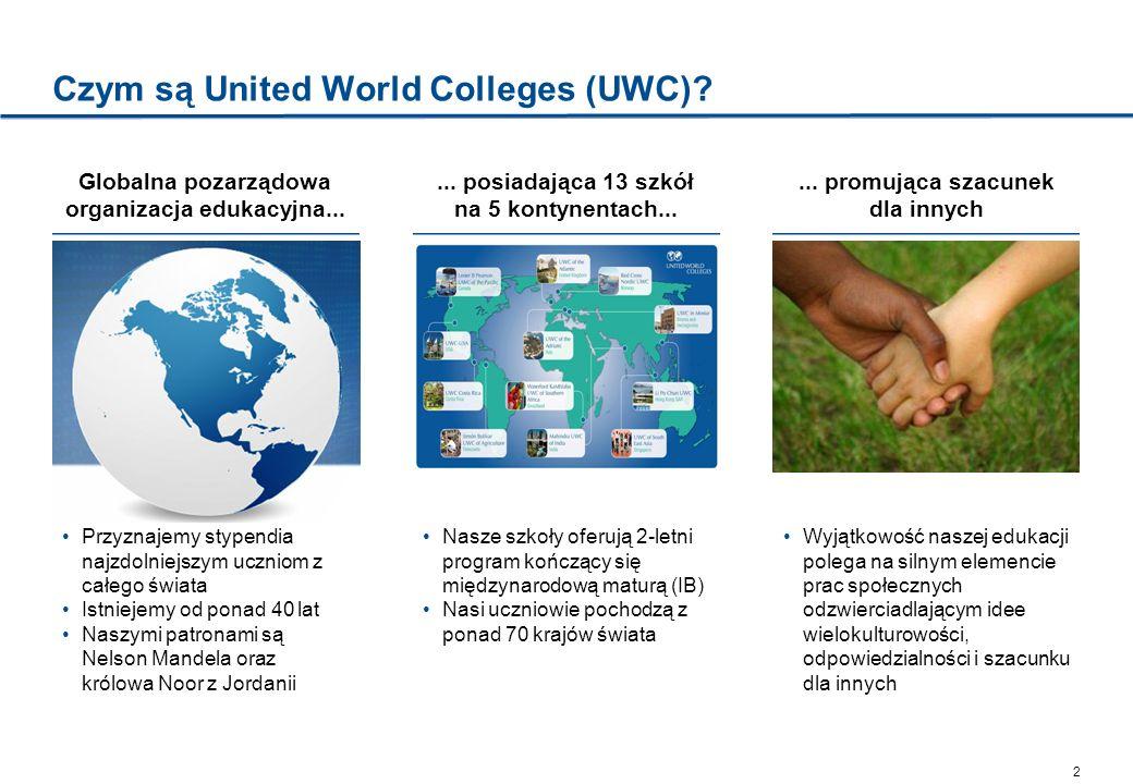 Czym są United World Colleges (UWC)