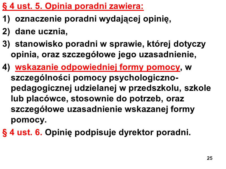 § 4 ust. 5.