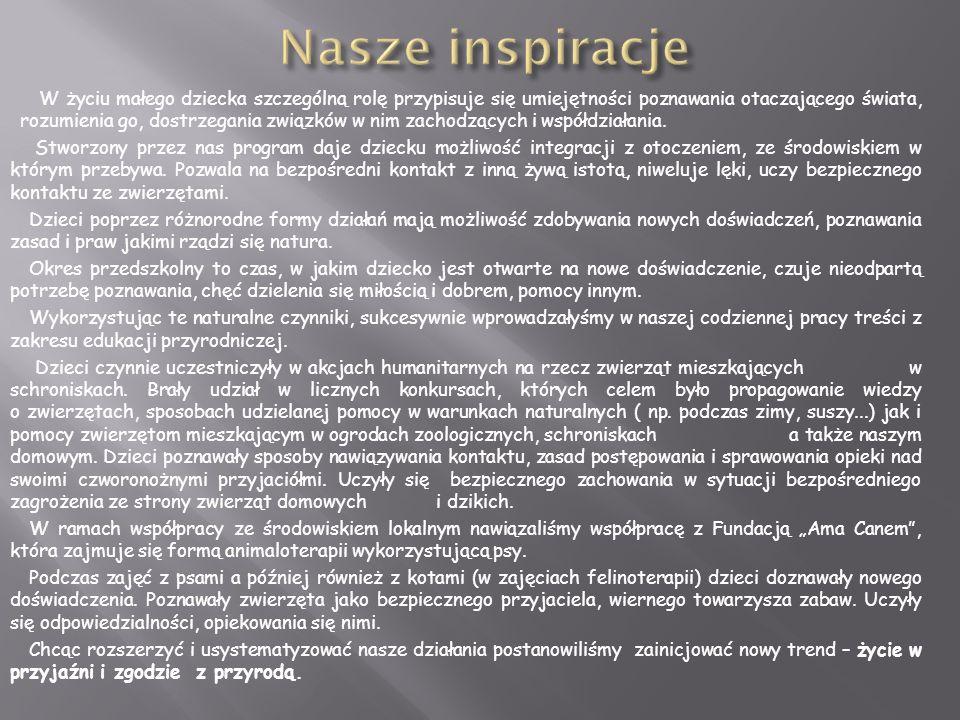 Nasze inspiracje